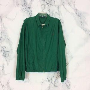 Vintage Polo Ralph Lauren Hunter Green Jacket L